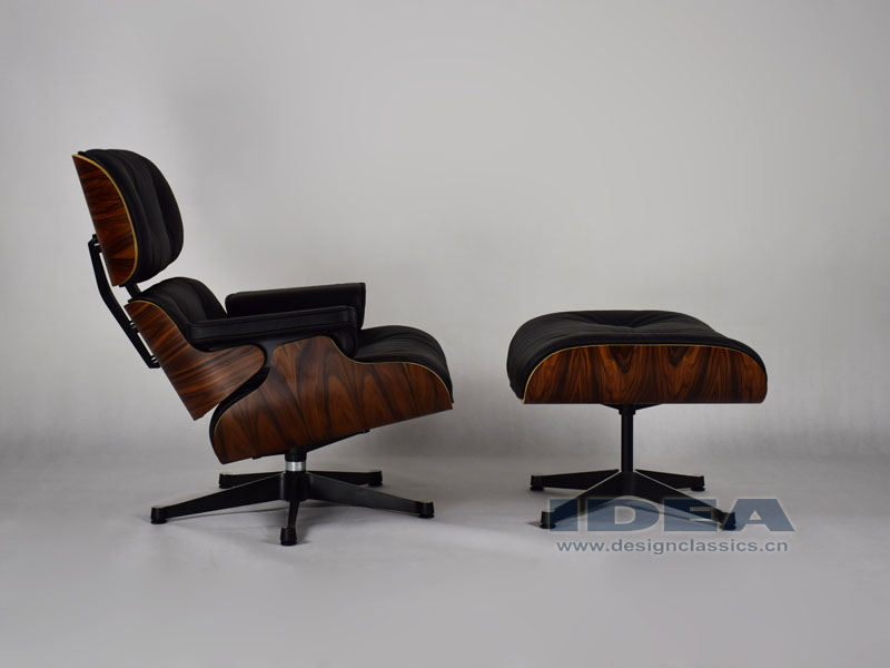 Eames Lounge Chair Reproduction Charles Eames Lounge Chair And Ottoman Rosewood Veneer