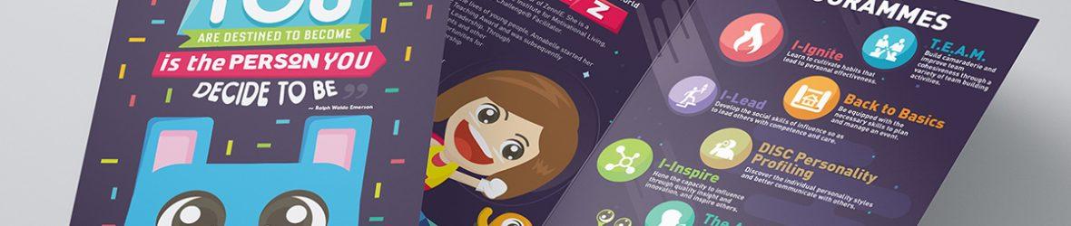 25 Creative Examples of Brochure Design Ideas - DesignCoral - brochure design idea example