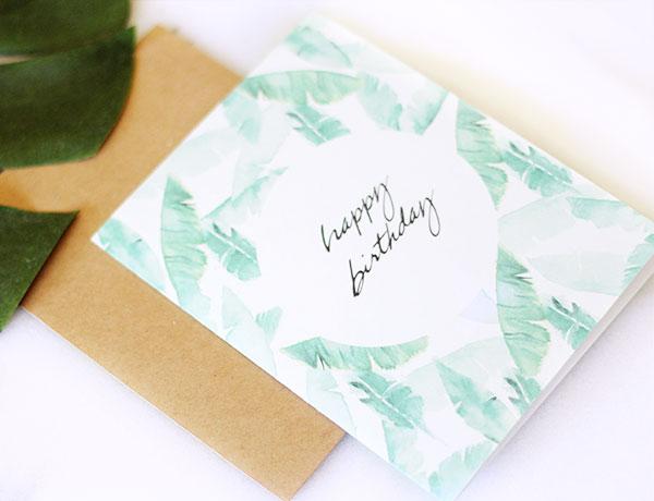 Birthday Wishes Free Printable Birthday Card - Design Create