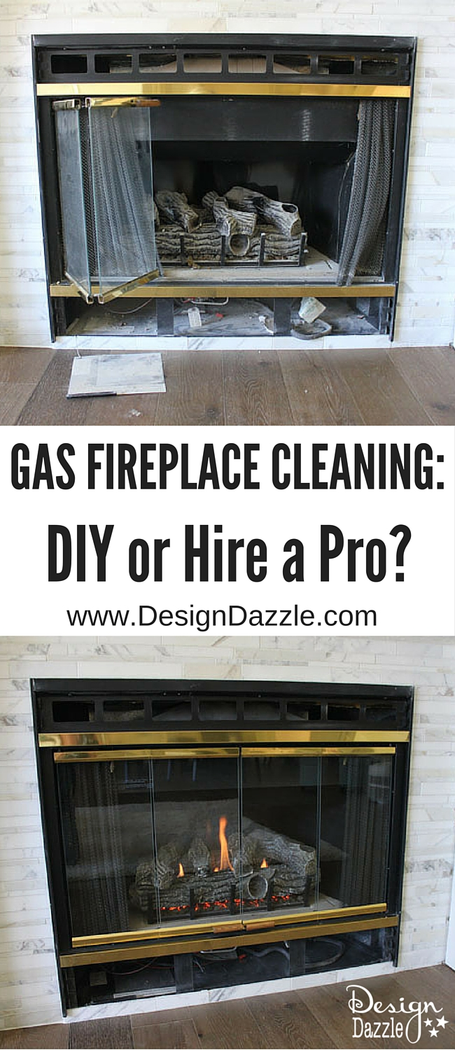 Cleaning A Fireplace Gas Fireplace Cleaning Diy Or Hire A Professional