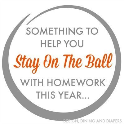 Stay On The Ball With Homework This Year Printable_Gray_1