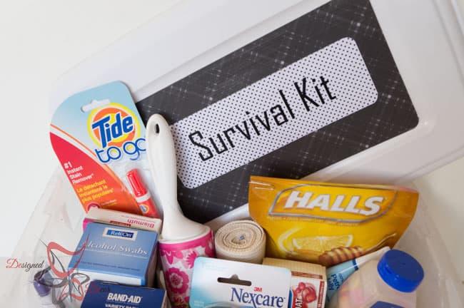 College Survival Kit - DIY Emergency Kit-8