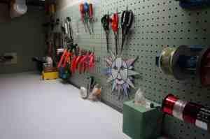 Work area 009