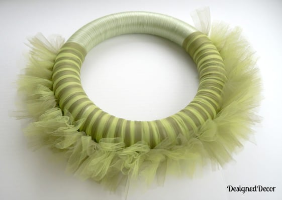 Spring Tulle Wreath