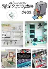 21 Awesome Office Organization Ideas! - Designed Decor