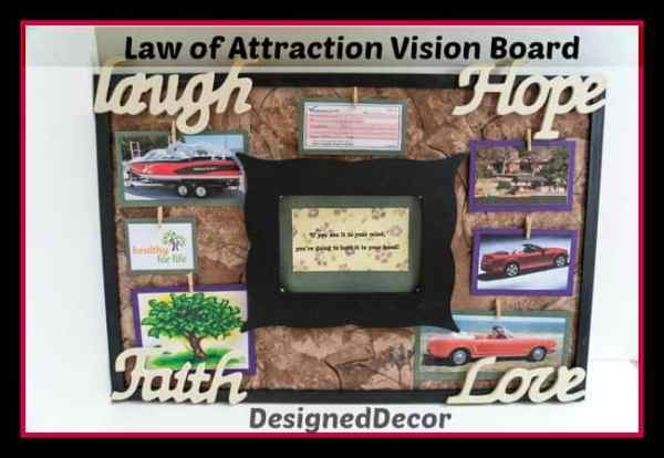 Law of Attraction Vision Board