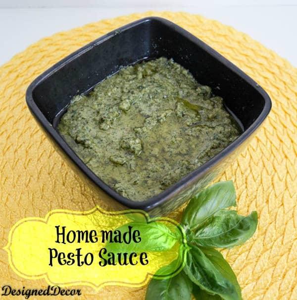 homemade pesto sauce-Designed Decor