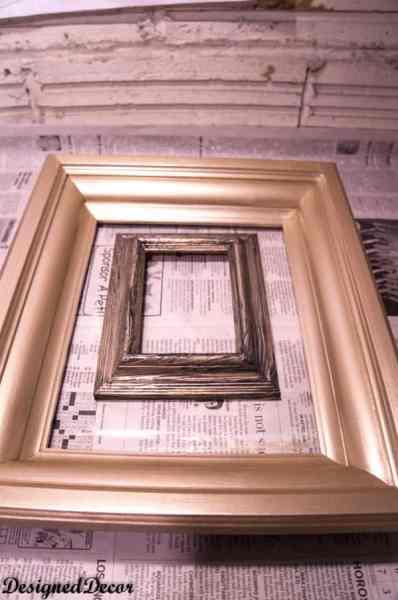 Modern Masters champagne metallic paint
