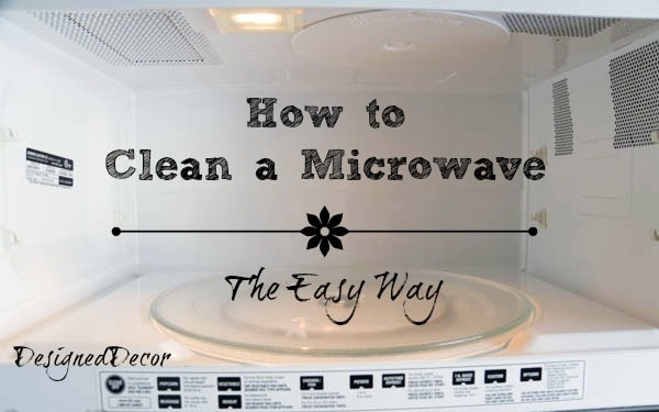How to Clean a Microwave-pinnable