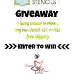 Royal Design Studio Stencil Giveaway