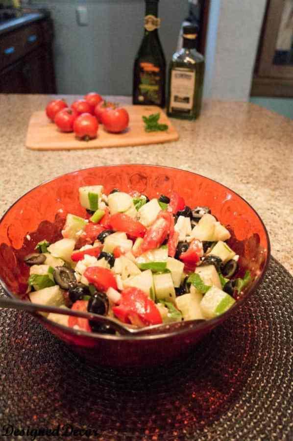 Cucumber Tomato Salad
