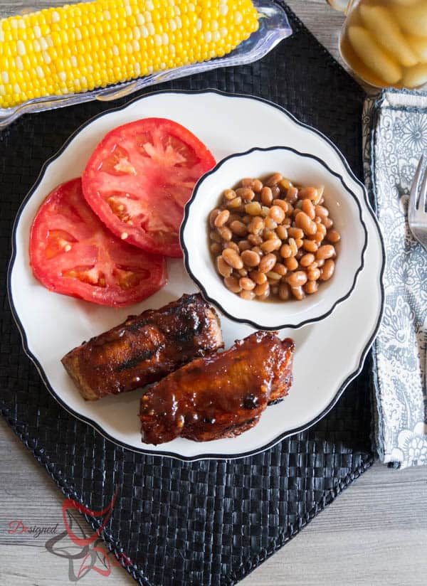 Barbecue Ribs with Dry Rub