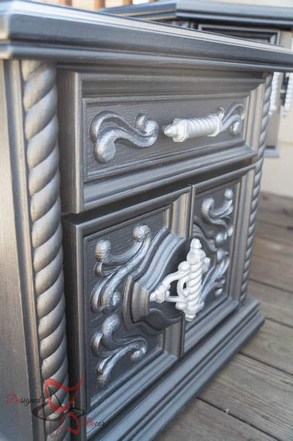 Ornate Chunky Side Tables