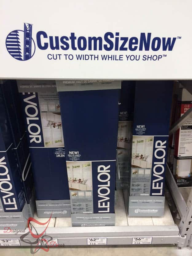 Custom Size Now Levolor Blinds-