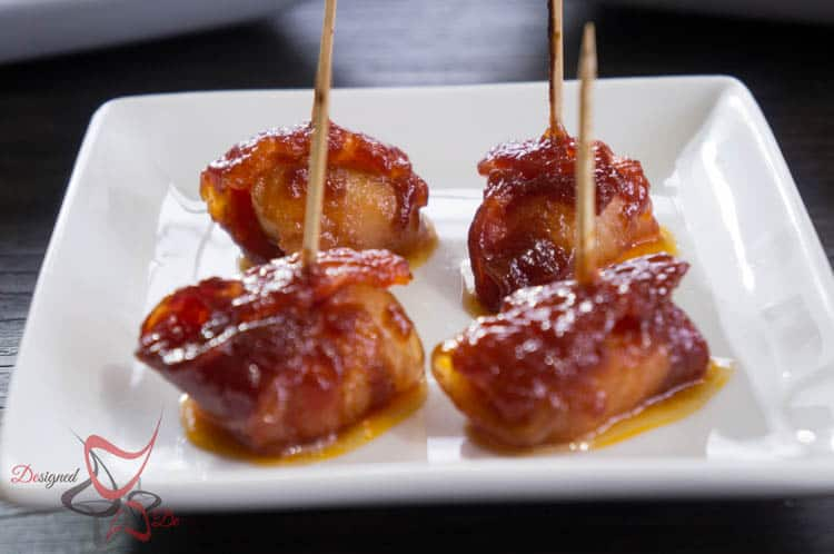 Bacon Wrapped Water Chestnuts-