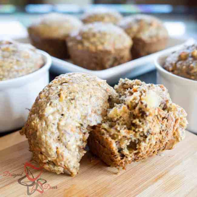 Bran Flax Muffins-