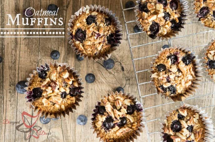 Oatmeal Muffins-baked