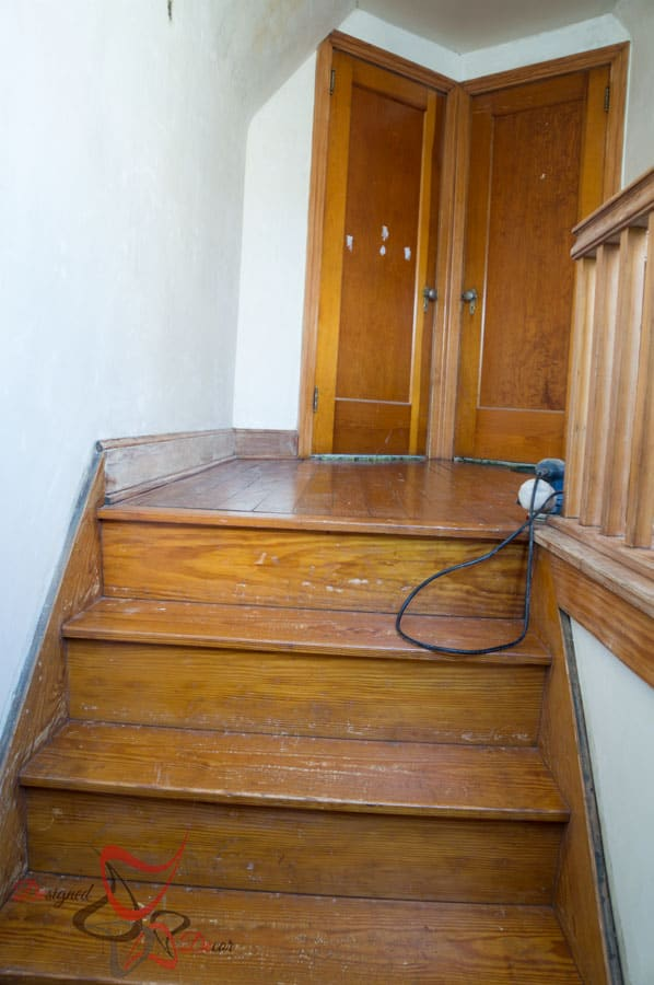 Gel Stain- Refinish Stairway-8