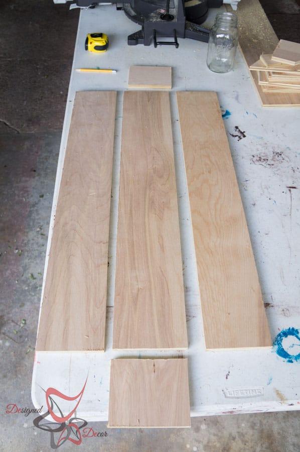 Diy table trough centerpiece designed decor