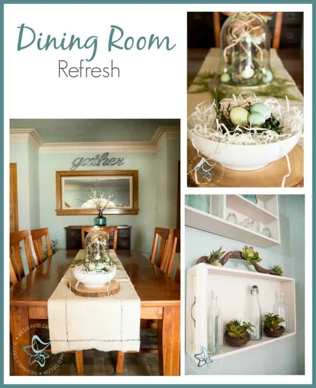 Dining Room Refresh on a Budget