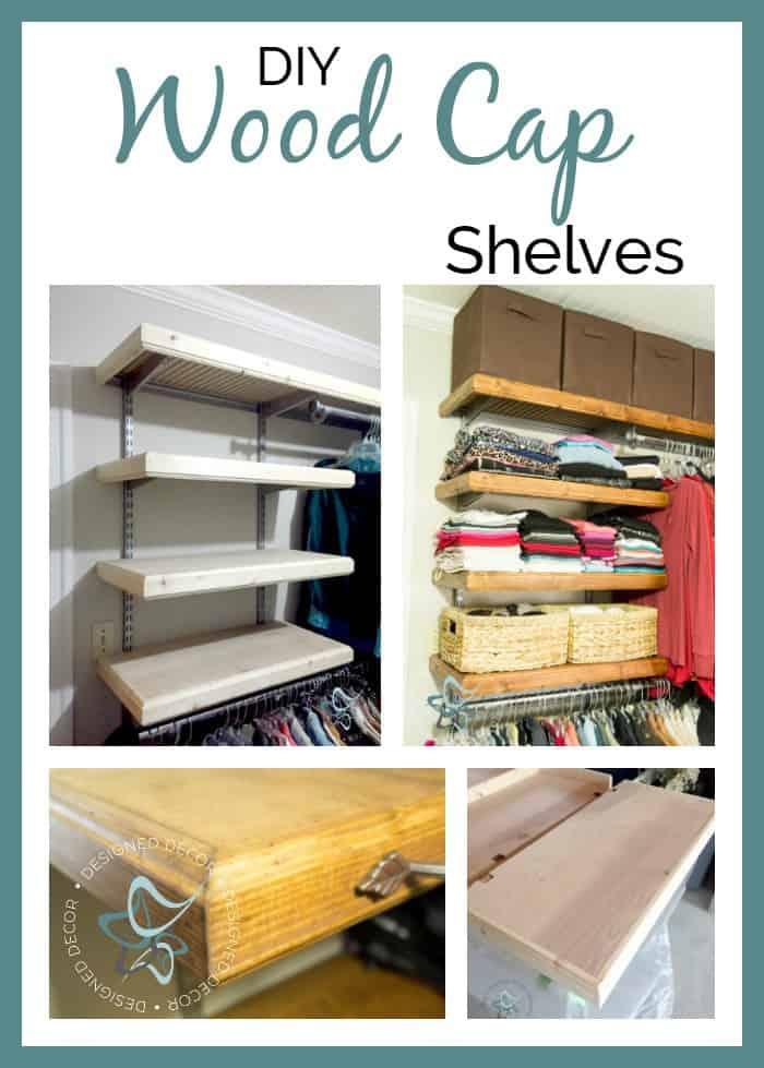 DIY- Wood- Cap-Shelves