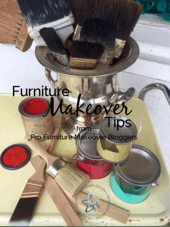 Furniture Makeover Tips!