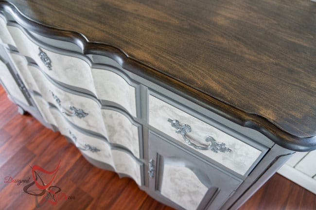 French Provincial Lime Paint Buffet!