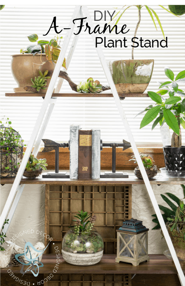 diy-a-frame-plant-stand
