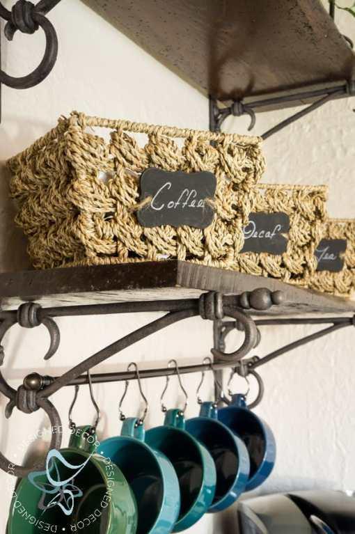 DIY Repurposed Barn Wood Shelves