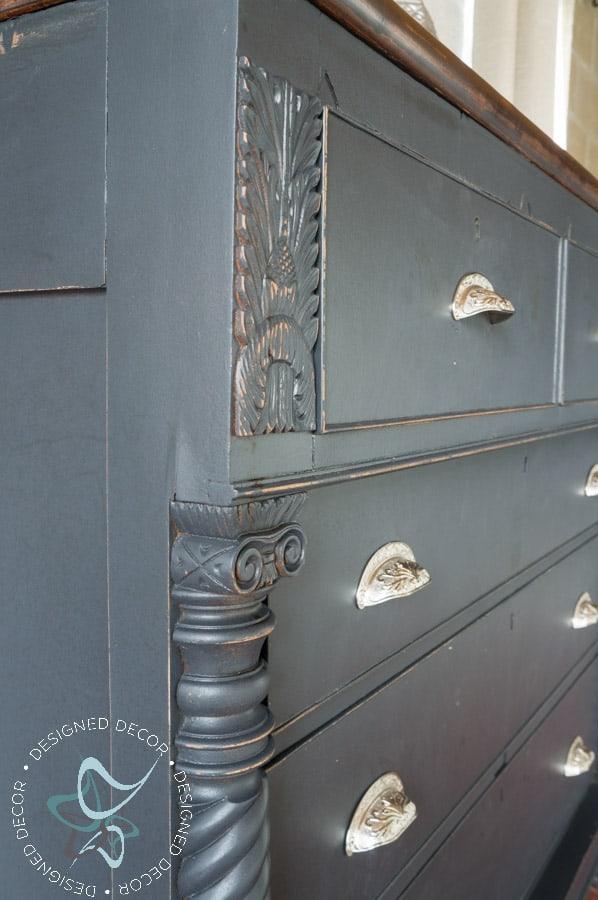 Carved Empire Dresser-Rustic Glam-7
