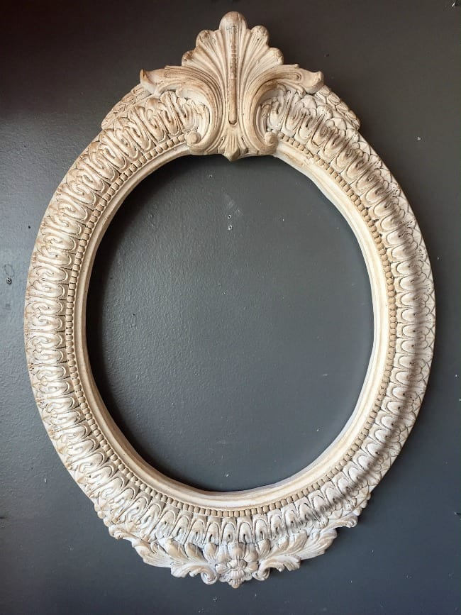 Thrift Store Upcycle frame