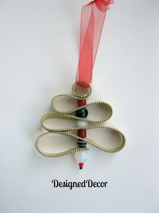 Zipper Tree Ornament