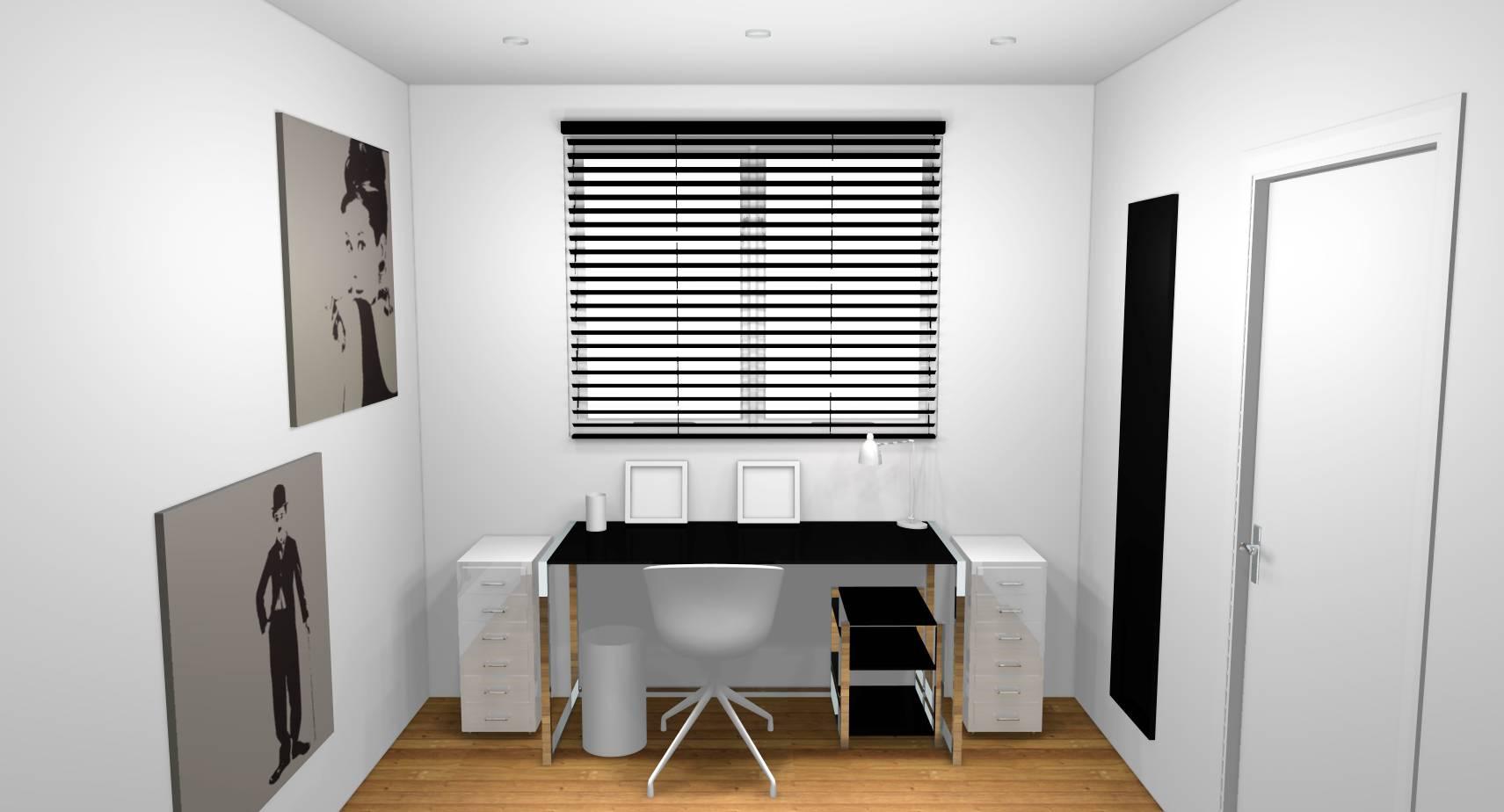 Deco interieur noir et blanc en noir et blanc frenchy fancy
