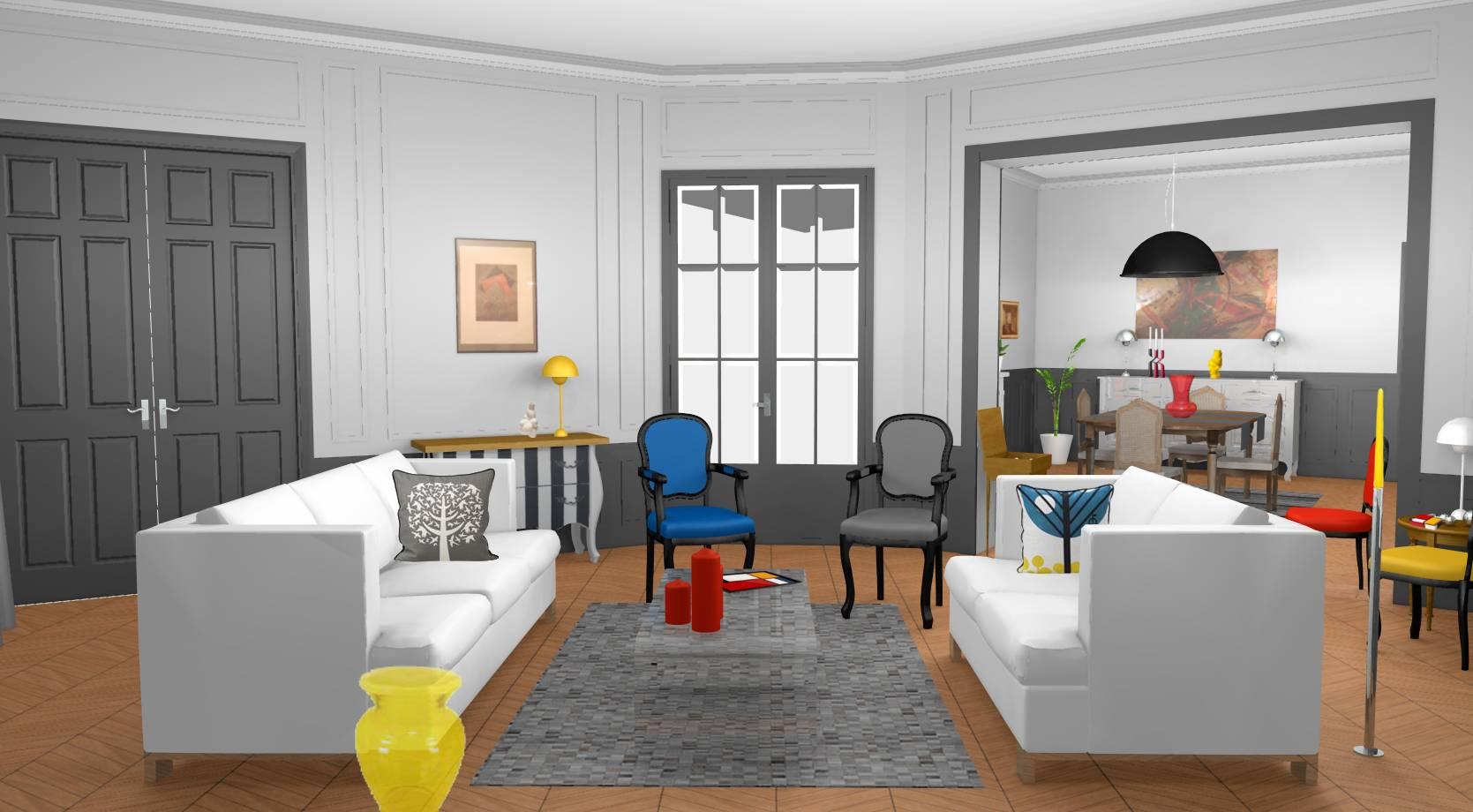 Decoration D Interieur Appartement Haussmannien | Appartement ...