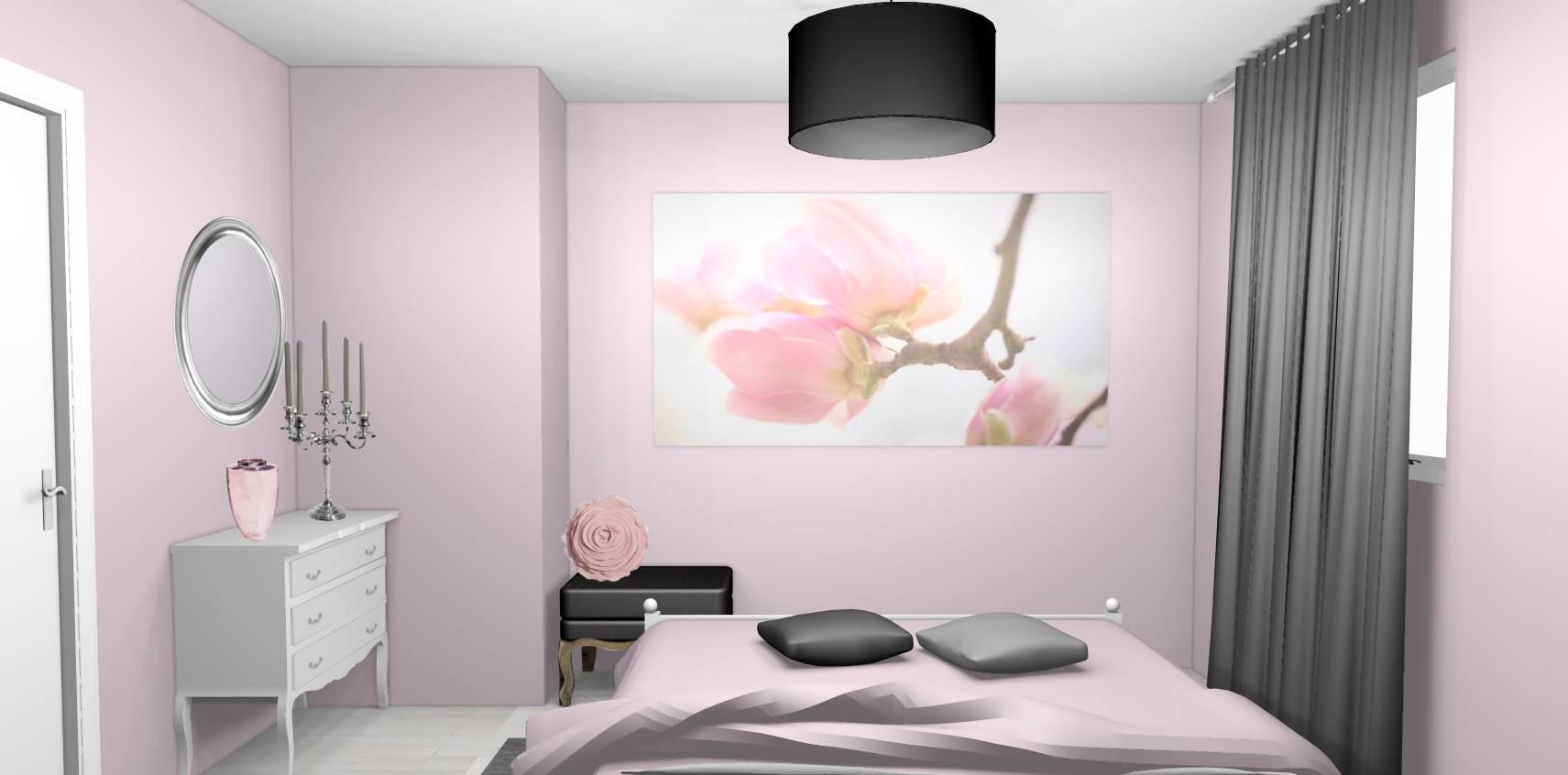 Chambre Rose Pale Et Blanc | Idée Chambre Enfant Rose