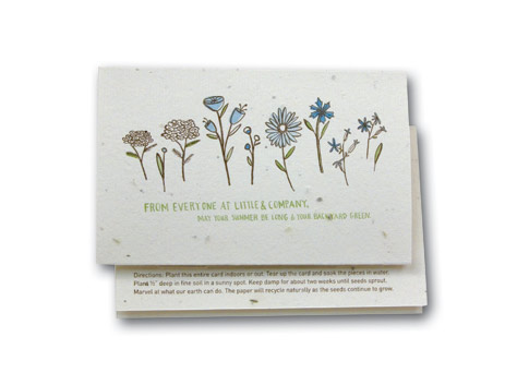 ecological name card