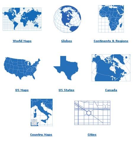 maps for graphic design