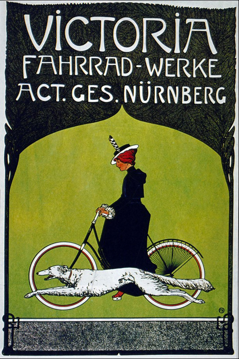 Poster Fahrrad A Collection Of Vintage Bike Ads