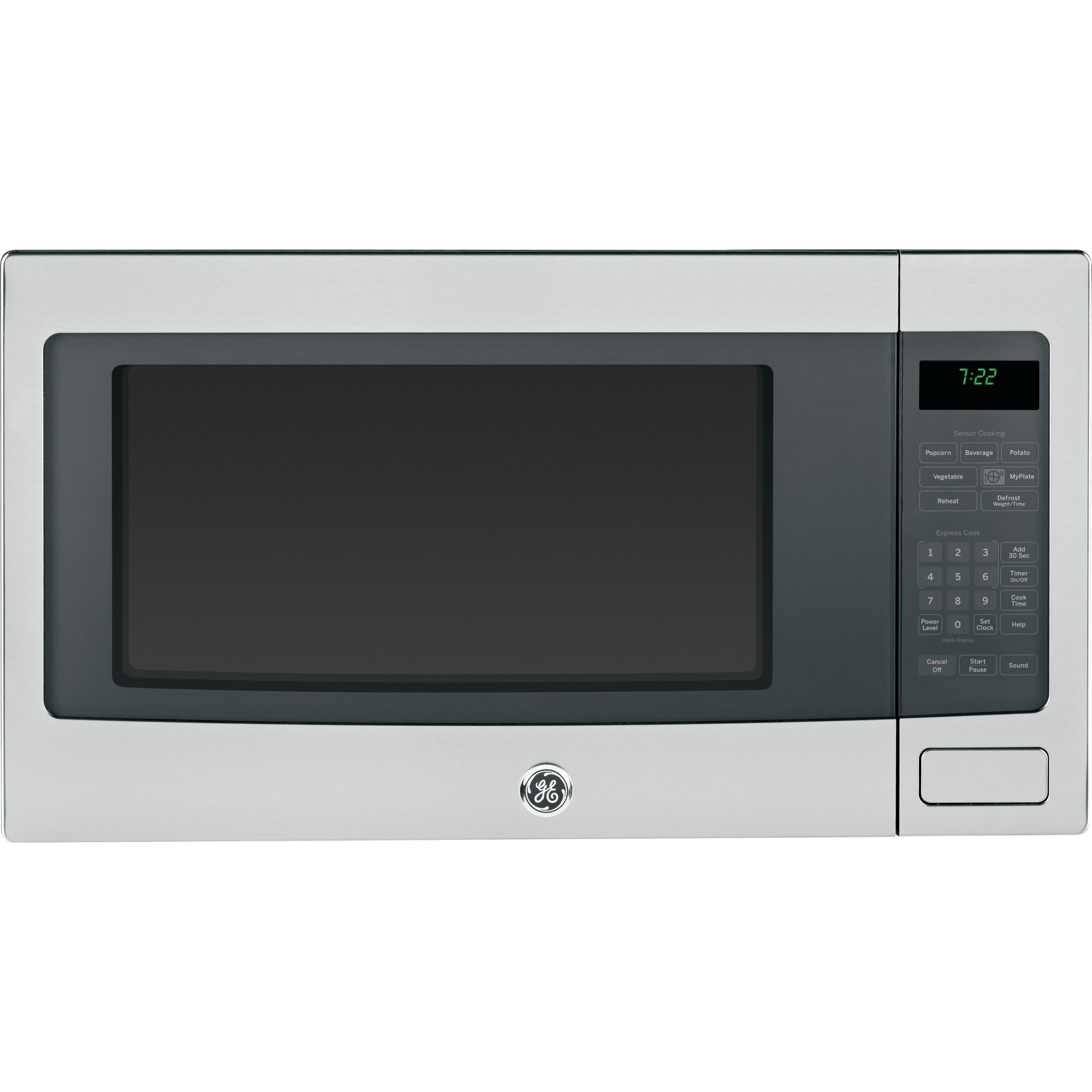 Counter Depth Microwave Peb7226sfss Ge Profile 2 2 Cu Ft Built In Or