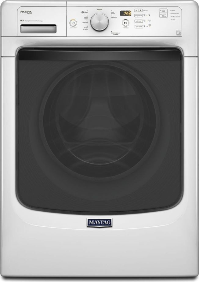 Mhw5100dw Maytag 4 5 Cu Ft Maxima Front Load Washer - Maytag Maxima Washer Reviews