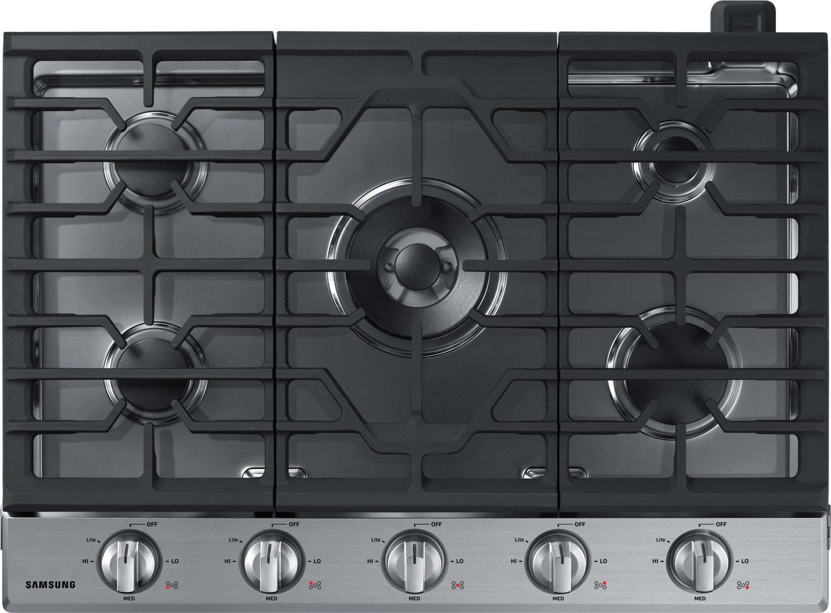 Gas Cooktop Installation Na30k6550ts Samsung 30 Quot Gas Cooktop 5 Burners