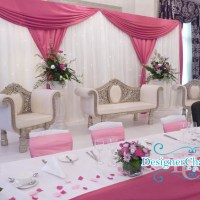 King and Queen Wedding Chair Hire