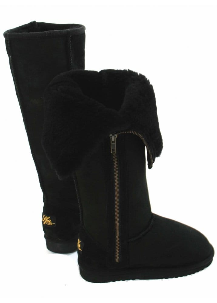 Voodoo Paris Love From Australia Boots | Extra Tall Zip | Lfa Boots