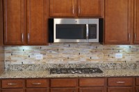 Stained Glass Kitchen Backsplash | Designer Glass Mosaics