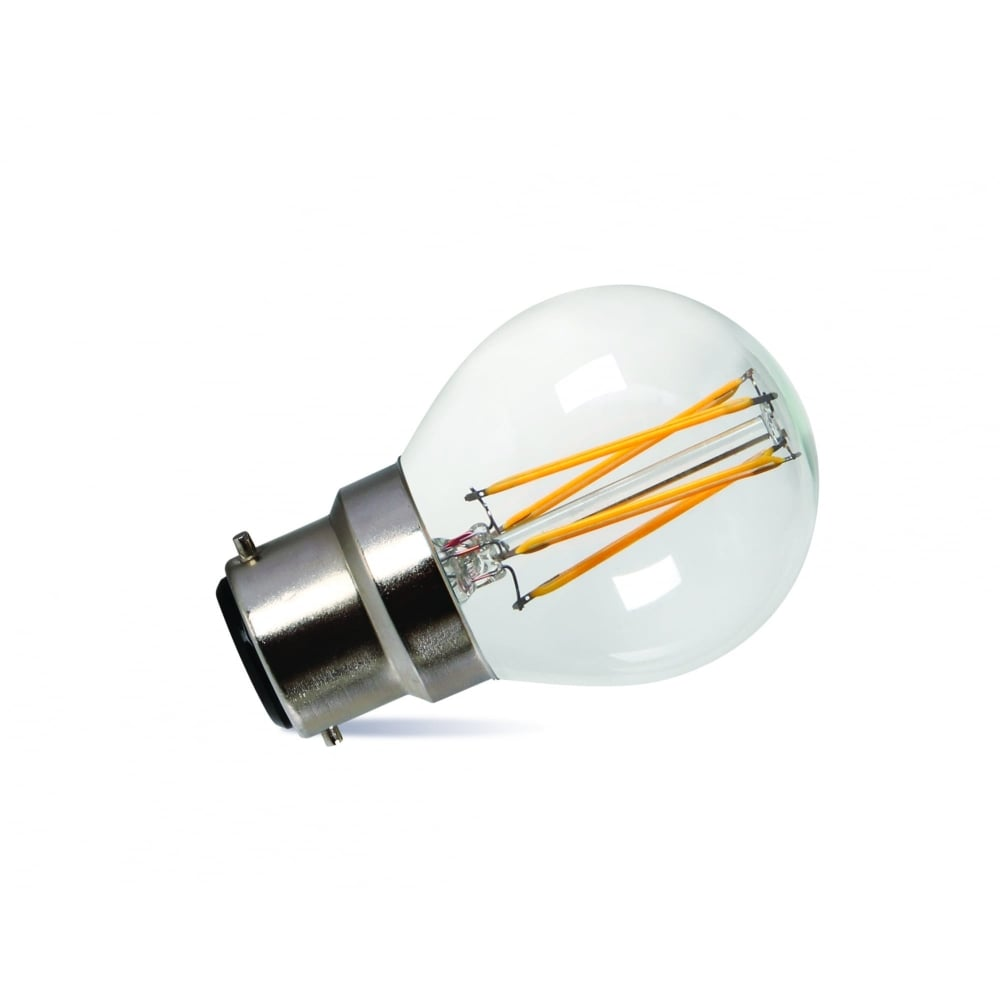 5 Watt Led Led Golf Ball Bulb 3 5 Watt Bc 320 Lumens Dimmable