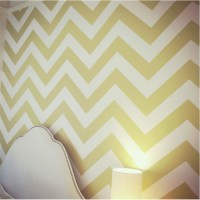 chevron wall decal  Roselawnlutheran