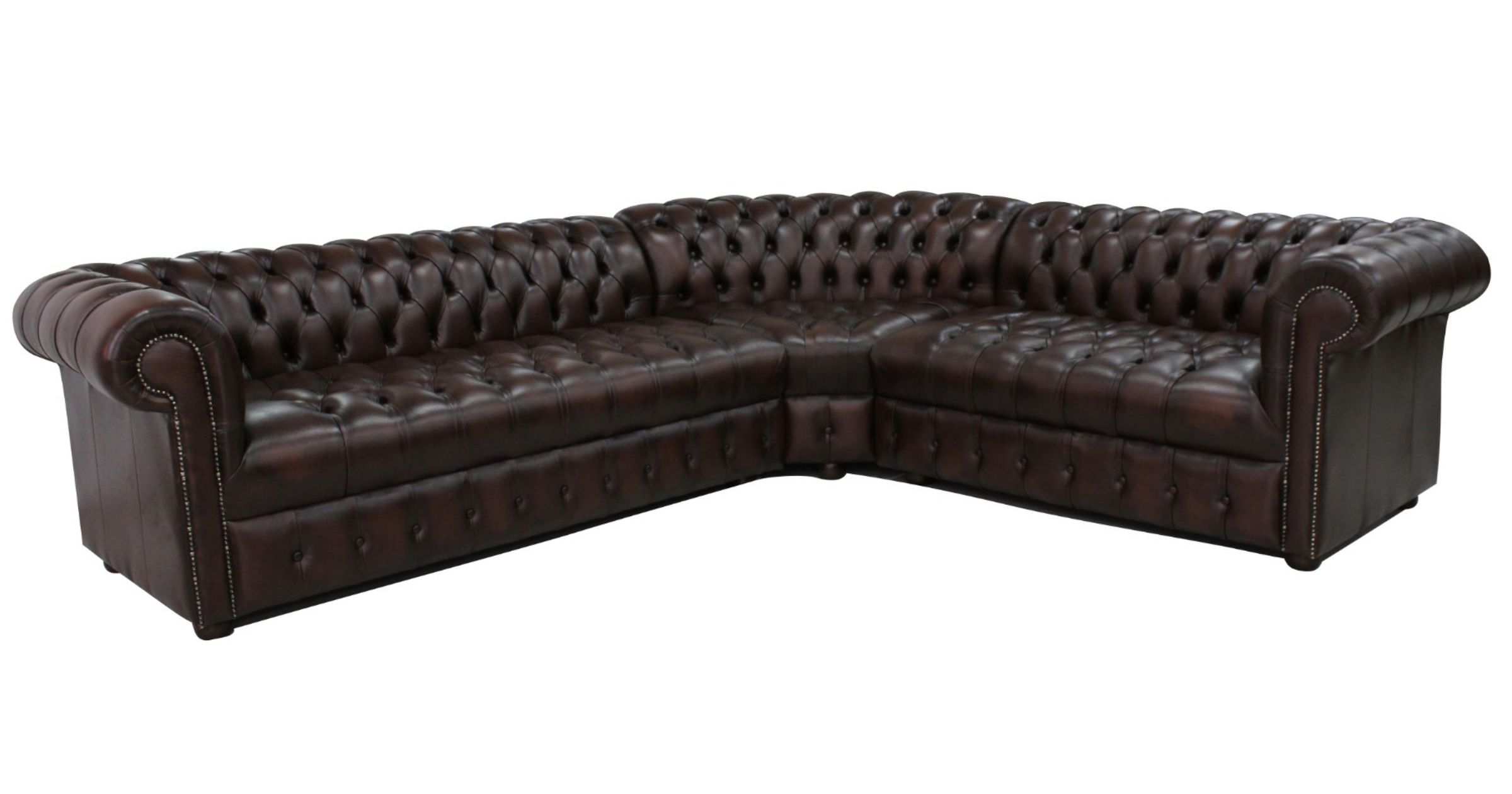 4 Seater Chesterfield Corner Sofa Chesterfield Corner Sofa Unit Buttoned Seat 3 Seater