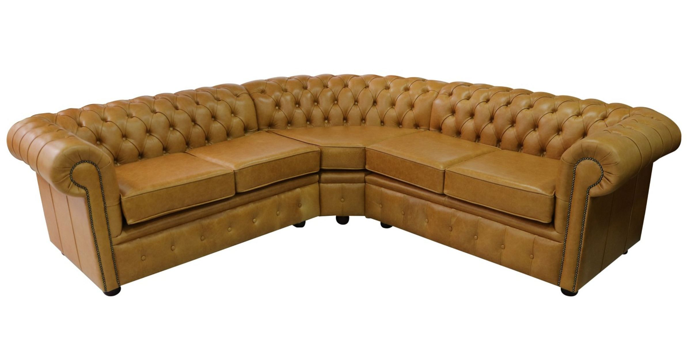 4 Seater Chesterfield Corner Sofa Chesterfield Corner Sofa Unit Cushioned 2 Seater + Corner