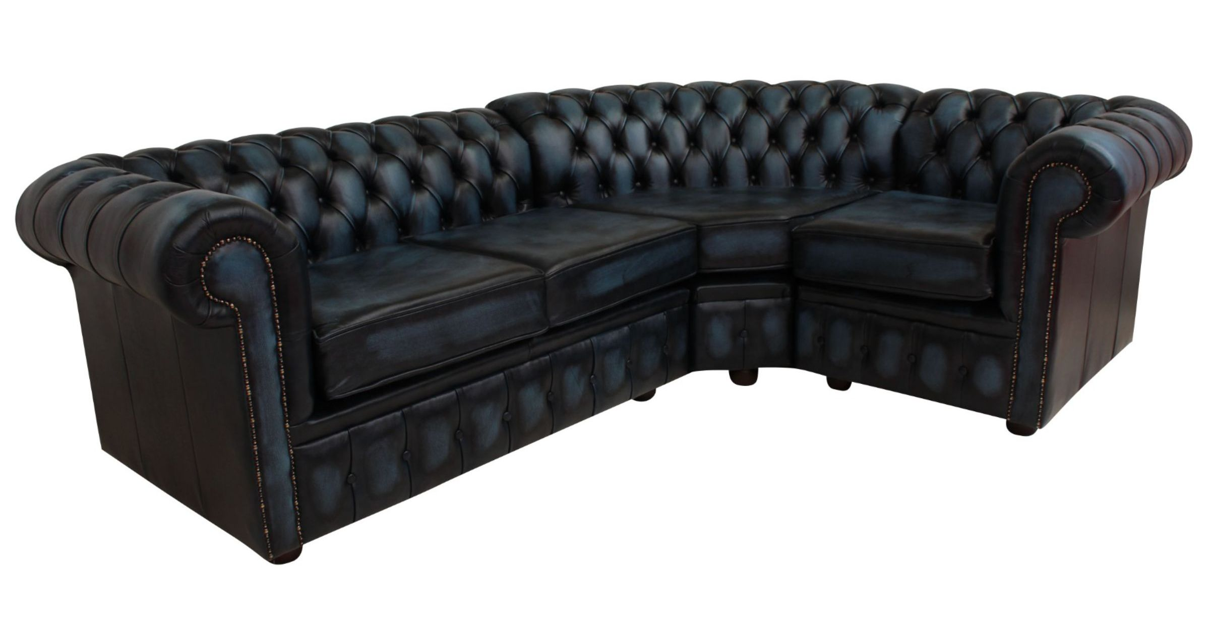 4 Seater Chesterfield Corner Sofa Chesterfield Corner Sofa 2 Seater + Corner + 1 Seater