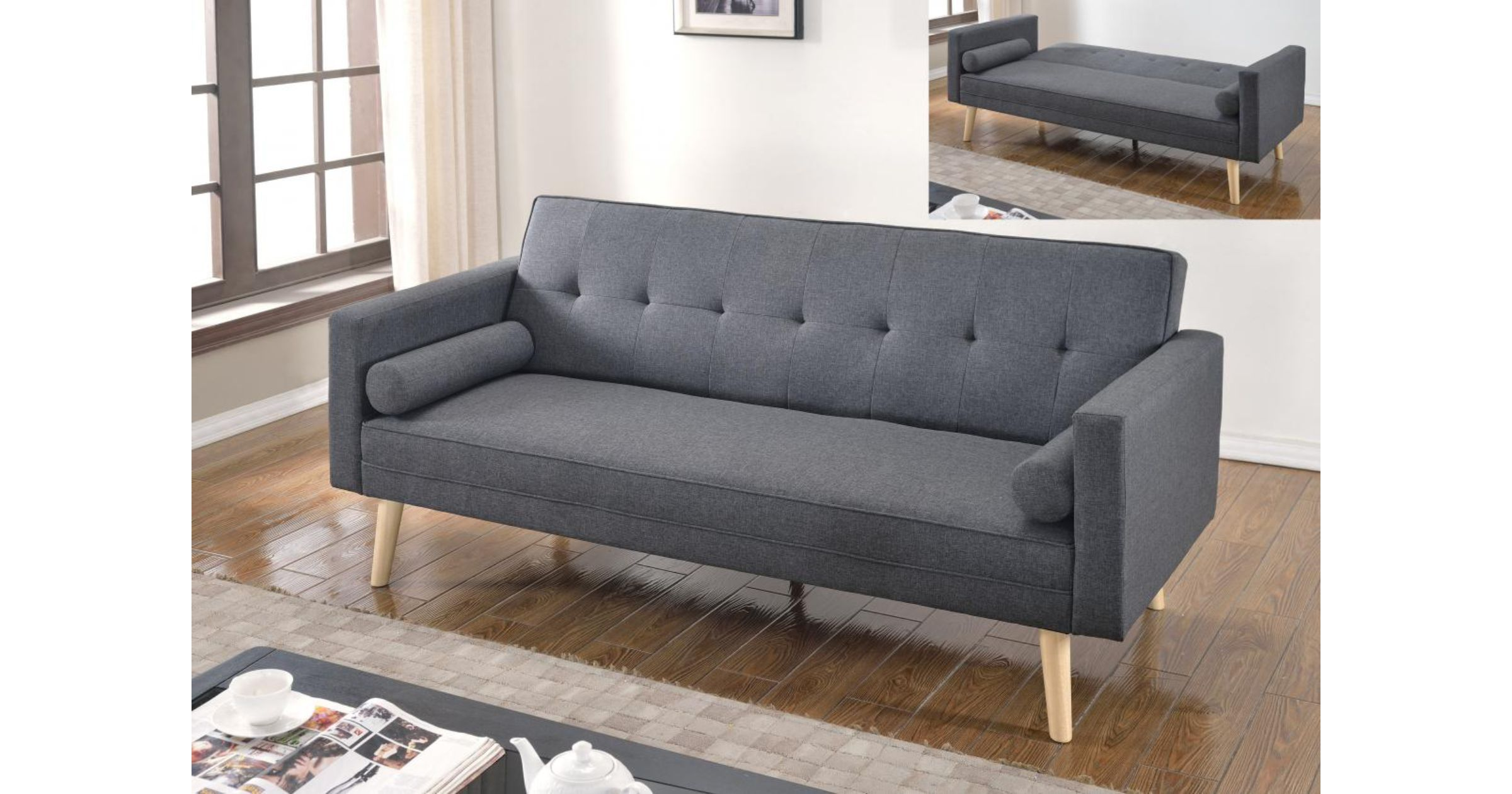 Sofa Bed Abu Dhabi Dark Grey Sofa Bed Powered Store Powered Store